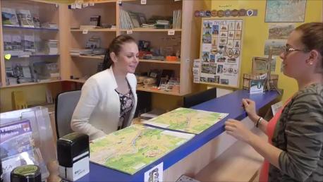 Studentka Střední školy cestovního ruchu Rožnov pod Radhoštěm