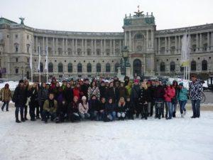 Studenti Střední školy cestovního ruchu Rožnov pod Radhoštěm -Exkurze