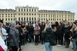 Studenti Střední školy cestovního ruchu Rožnov pod Radhoštěm - Exkurze