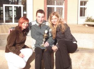 Studenti Střední školy cestovního ruchu Rožnov pod Radhoštěm