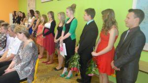 Předávání maturitního vysvědčení - 2015