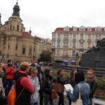 Staroměstské náměstí - Husova socha