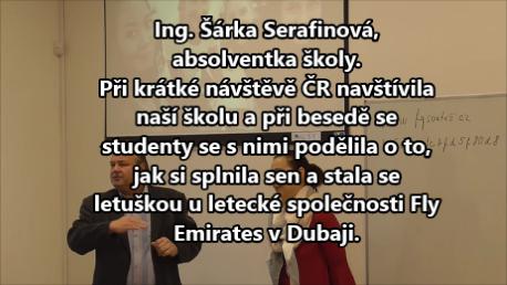 Š. Serafinová ve škole