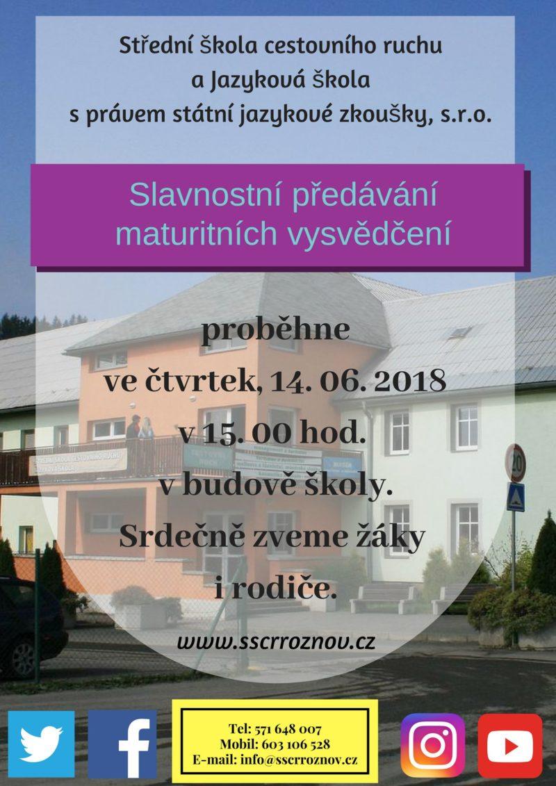 plakát_předání_maturitních_vysvědčení